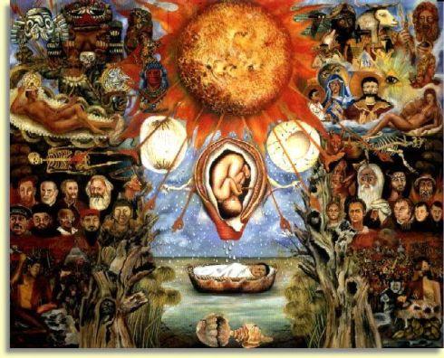 Moïse ou Le Nucléus (Frida Kahlo)