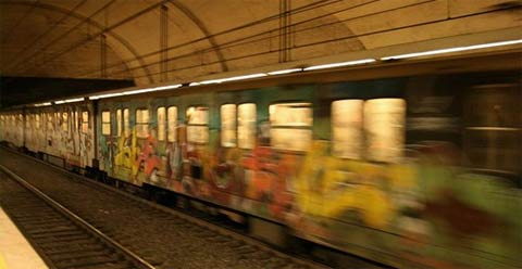 Métro de Rome (photo: www.italie.cc)