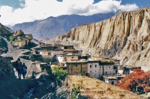 Trek dans la vallée de la Gali Gandaki.